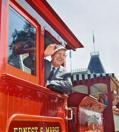 A Disneyland Tribute With Walt Himself Part 1, Fletcher Markle for the Canadian Broadcast Company interview