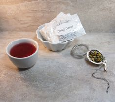 Calming Organic Herbal Tea Blend-Drowsy Damsel-An by CamilleLaLune