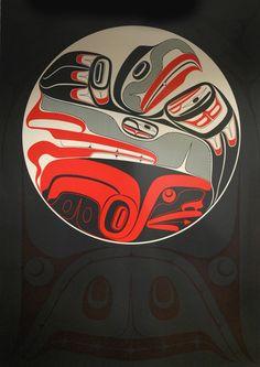 Inuit Gallery of Vancouver - Specializing in Inuit art, Northwest Coast art… Arte Inuit, Arte Haida, Haida Art, Inuit Art, Native American Warrior, Native American Art, American Indians, Sketch Manga, Indian Artwork