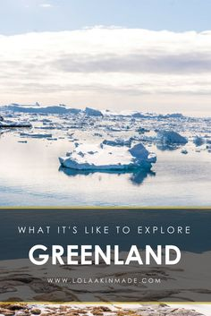What it's like to visit Greenland, a country full of Arctic beauty and far flung adventure. From culture and food in Nuuk to dog sledding and sailing in Ilulissat. | Geotraveler's Niche Travel Blog
