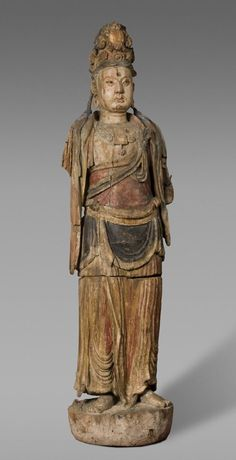 Bodhisattva, China, ca.1127-1279 (This is life size and located at the Philadelphia Art Museum)