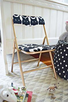 DIY Upholstered Kid's Chair   Houseologie