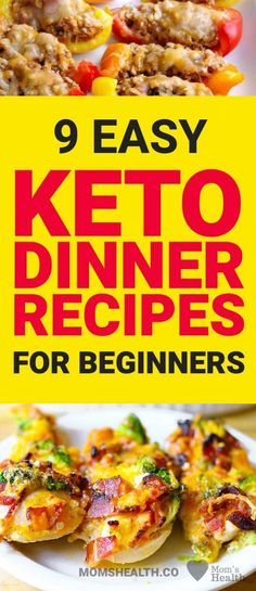 Check these amazing Keto dinner recipes and you will never feel like you are on a diet! Ketogenic diet only seems to be difficult and strict. In fact, there are so many options of keto recipes that you can open an entire new Keto world, just follow new posts on MomsHealth.co!