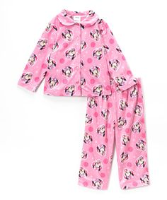 Girls' Clothing (newborn-5t) Minnie Mouse Disney Toddler Girls Long Sleeved Pajamas Size 4t Bright Luster Clothing, Shoes & Accessories