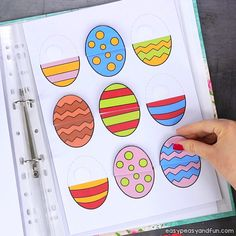 Printable Spring Quiet Book - Activity Book for Pre-K and K activityideasf .Printable Spring Quiet Book - Activity book for Pre-K and K activityideasforkids activity book printable quiet Printable Easter Quiet Book - exercise book Easter Activities For Kids, Kids Activity Books, Activities For 2 Year Olds, Preschool Learning Activities, Preschool Lessons, Book Activities, Fun Learning, Preschool Activities, Teaching Kids