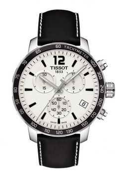 tissot black watches for men tissot black watches men s swiss luxury quartz movement wrist watch from the quickster collection featuring a stainless steel case a silver dial arabic index