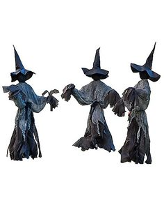 25 ft lawn witch decorations spirithalloweencom - Witch Decorations