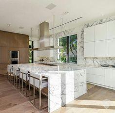Kitchen Island, Kitchens, Home Decor, Real Estate Investing, Investing, Luxury Villa, Island Kitchen, Decoration Home, Room Decor