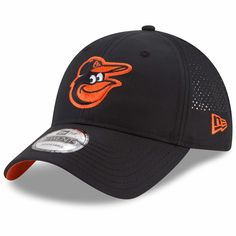 new arrival 325b5 9b88a Men s Baltimore Orioles New Era Black Perforated Pivot 9TWENTY Adjustable  Hat, Your Price   25.99