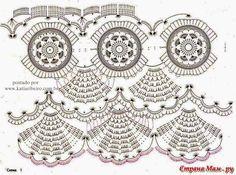 Katia Ribeiro Fashion and Decoration Handmade: Bolero in crochet with graphic