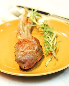 ... savory lamb with rosemary from Tasting Table editor Nick Fauchald