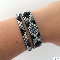 Woven bracelet beads by byelNL on Etsy