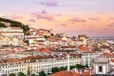 Lisboa, Portugal Capital e maior cidade de Portugal, situada na desembocadura do río Taxo