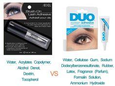 Ardell Vs Duo Eyelash Adhesive Review of Ingredients - Minki Lashes