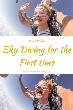 Sky Diving for the First Time over Airlie Beach, Australia Adventure Bucket List, Adventure Travel, Adventure Awaits, Outdoor Fun, Outdoor Camping, Best Places To Skydive, Skydiving Quotes, Australian Holidays, Nepal Mount Everest