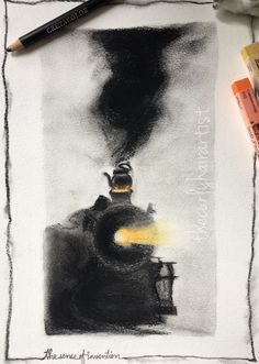 It's a famous tale, how observing a boiling tea kettle and the moving lid made James Watt discover the power of steam. And the world got one of the most important invention of mankind - Steam Engine... #charcoal #jameswatt
