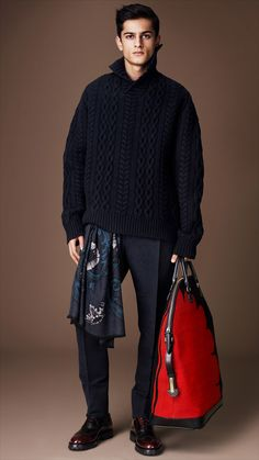 Burberry Prorsum Menswear Autumn/Winter 2014 show | Burberry