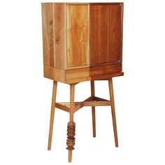 Bar Cabinet,  Artisanal Handcrafted Mexico Cedarwood, Tzalam Wood, Maison Object | From a unique collection of antique and…