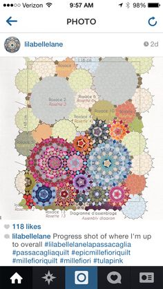 More passacaglia quilting from flossieteacakes