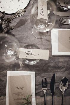 En av Sveriges största bloggar om inredning och design. Wedding Pics, Summer Wedding, Dream Wedding, Wedding Day, Table Setting Inspiration, Let's Get Married, Wedding Decorations, Table Decorations, Deco Floral