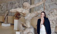 living sculpture: zuzanna bijoch by nagi sakai for vogue paris travel in france spring / summer 2016   visual optimism; fashion editorials, shows, campaigns & more!