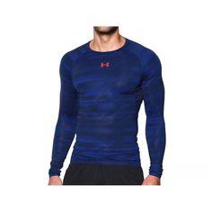 Pánské kompresní triko Under Armour Under Armour, Long Sleeve, Sleeves, Mens Tops, T Shirt, Fashion, Supreme T Shirt, Moda, Tee