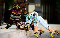How to Stand in Heels for 8 Hours Without Killing Your Feet via @WhoWhatWear
