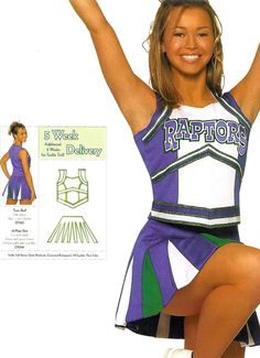 Design custom cheerleading uniforms for your squad. Best cheerleading uniform deals that will fit your budget. Save upto on custom cheerleading uniforms. Custom Cheer Uniforms, Cheerleading Uniforms, Band Uniforms, Cheers, Custom Made, Prom, Game, How To Make, Vintage
