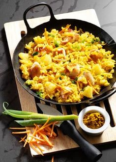 Low cholesterol recipes: curry risotto with chicken | Food & Drink