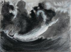 Emma Filipsson, pintora, Viking, Vikingos