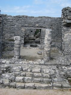 Tulum_ruin  Mexican Mayan Ruins