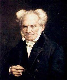 Ein bisschen misanthropisch schaut der Philosoph Arthur Schopenhauer auch auf diesem Portrait