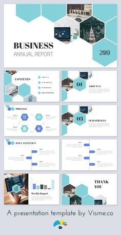 USE THIS TEMPLATE to create your own annual report pitch deck! Everything is customizable and easy to use. USE THIS TEMPLATE to create your own annual report pitch deck! Everything is customizable and easy to use. Powerpoint Slide Designs, Powerpoint Design Templates, Presentation Design Template, Presentation Layout, Booklet Design, Website Design Layout, Web Design, Design Layouts, Cover Design