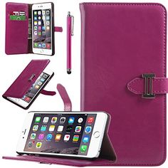 iPhone 6 Plus Case, ULAK Case for Apple iPhone 6 Plus 5.5 inch High-grade of Leather Wallet Case Durable Folder Built-in Card Slot Premium Case with Screen Protector and Stylus (Rose Pink) ULAK http://www.amazon.com/dp/B00QTLBL1G/ref=cm_sw_r_pi_dp_cW9bvb0WYHY9G