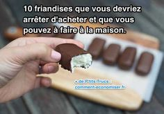 10 recettes de friandises maison bounty rocher coco carambars chamalow twix kinder nutella sucette Smoothies, Biscuits, Sweet Tooth, Deserts, Food And Drink, Cooking Recipes, Pudding, Nutrition, Sweets