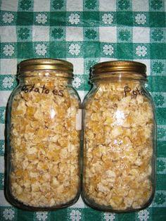 Poverty Prepping: Dehydrating Potatoes for potato flour