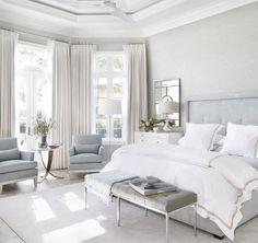 #sypialnia #zasłony #łóżko >> http://www.oslonydookien.pl/produkty/oslony-wewnetrzne/zaslony-firany/