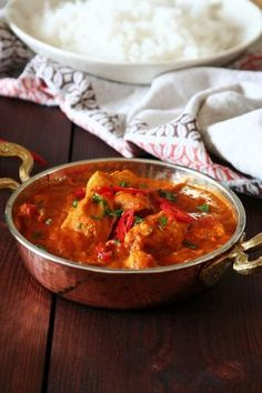 Indické kuřecí kari – Vařeniště Indian Food Recipes, Ethnic Recipes, Garam Masala, Thai Red Curry, Good Food, Food And Drink, Menu, Snacks, Indie