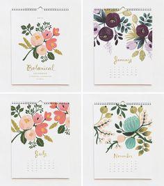 2012 Calendar Designs