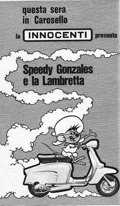PUBBLICITA' SU RADIOCORRIERE TV: LAMBRETTA