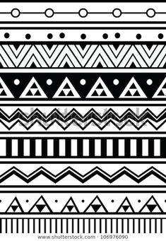lines more aztec pattern drawing aztec drawing pattern aztec design . Geometric Patterns, Doodle Patterns, Zentangle Patterns, Geometric Designs, Line Patterns, Pattern Drawing, Pattern Art, Pattern Designs, Deco Surf