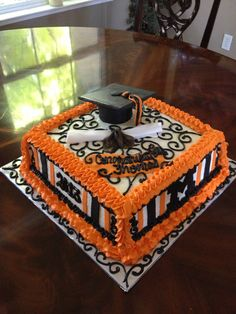 Merced High School Graduation Cake I made.