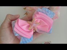 Making Hair Bows, Diy Hair Bows, Diy Bow, Fabric Bows, Ribbon Bows, Making Bracelets With Beads, Hair Bow Tutorial, Hair Ribbons, Boutique Bows
