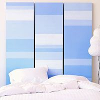 Headboard option for apartments