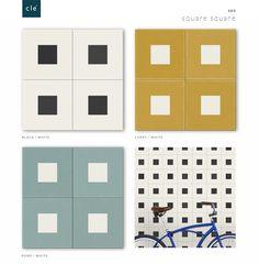 cement tile geo square square