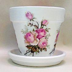 Flower Pot Art, Flower Pot Crafts, Clay Pot Crafts, Painted Plant Pots, Painted Flower Pots, Diy Arts And Crafts, Diy Crafts, Indoor Flower Pots, Potted Flowers
