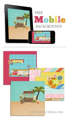 Tons of free mobile device backgrounds for any gadget