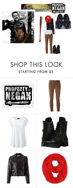 """""""30 Day THE WALKING DEAD Challenge- Day 9"""" by batgirl-at-the-disco3 ❤ liked on Polyvore featuring Lucille, J Brand, Lands' End, Capezio, Yves Saint Laurent, scene, laugh, thewalkingdead, TWD and negan"""