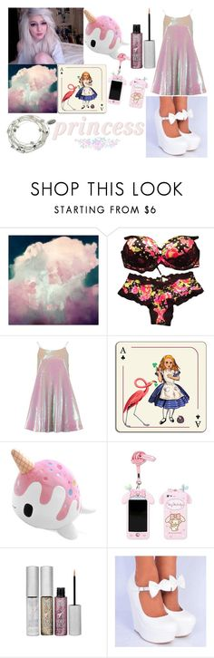 """talk to me- Alice"" by burntvanilla ❤ liked on Polyvore featuring мода, Victoria's Secret, Avenida Home, Urban Decay и Majique"