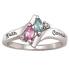 Together Forever Marquise Ring